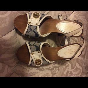 Coach Shoes/ Sandals/ Heels